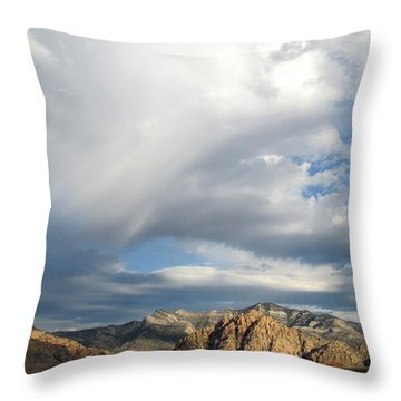 Red Rock Canyon 2014 Number 12 Throw Pillow