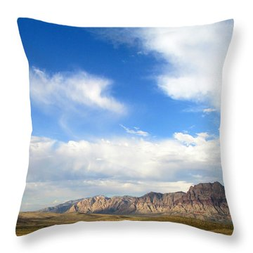 Red Rock Canyon 2014 Number 13 Throw Pillow