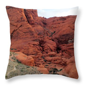 Red Rock Canyon 2014 Number 14 Throw Pillow