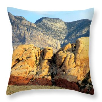 Red Rock Canyon 2014 Number 15 Throw Pillow