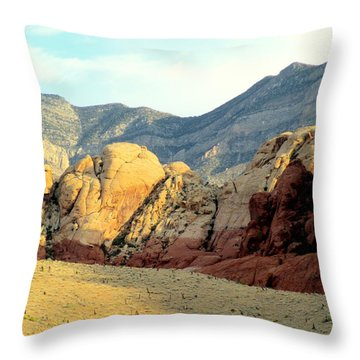 Red Rock Canyon 2014 Number 16 Throw Pillow