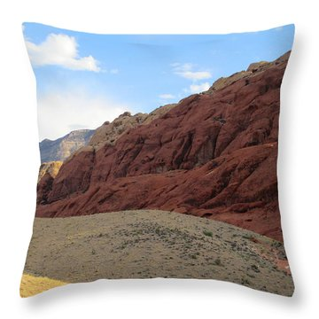 Red Rock Canyon 2014 Number 17 Throw Pillow