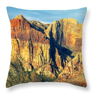 Red Rock Canyon 2014 Number 18 Throw Pillow
