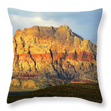 Red Rock Canyon 2014 Number 2 Throw Pillow