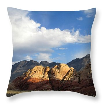 Red Rock Canyon 2014 Number 20 Throw Pillow