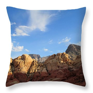 Red Rock Canyon 2014 Number 21 Throw Pillow
