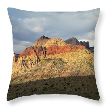 Red Rock Canyon 2014 Number 22 Throw Pillow