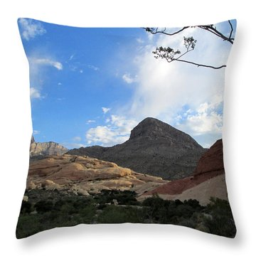 Red Rock Canyon 2014 Number 23 Throw Pillow