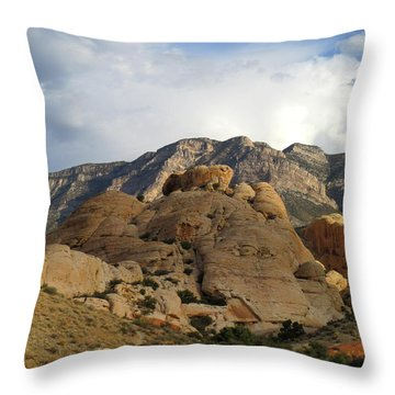 Red Rock Canyon 2014 Number 24 Throw Pillow