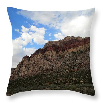 Red Rock Canyon 2014 Number 25 Throw Pillow