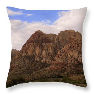 Red Rock Canyon 2014 Number 26 Throw Pillow