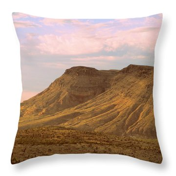 Red Rock Canyon 2014 Number 3 Throw Pillow