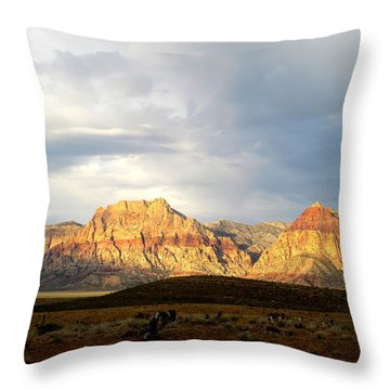 Red Rock Canyon 2014 Number 4 Throw Pillow