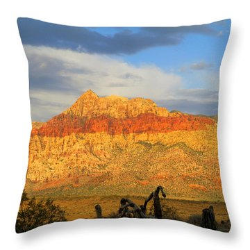 Red Rock Canyon 2014 Number 5 Throw Pillow
