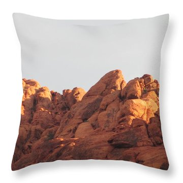 Red Rock Canyon 2014 Number 6 Throw Pillow