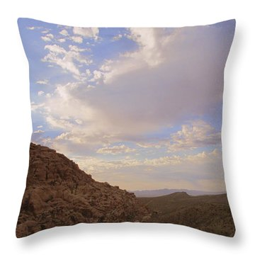 Red Rock Canyon 2014 Number 7 Throw Pillow