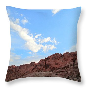 Red Rock Canyon 2014 Number 9 Throw Pillow