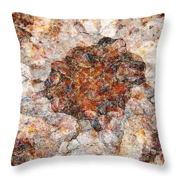 Red Rock Canyon - Soft Rock Throw Pillow