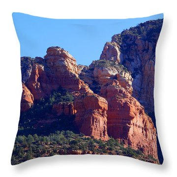 Red Rock Country Landscapes Throw Pillow