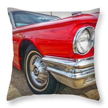 Red Thunderbird Throw Pillow