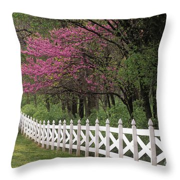 Redbud - Fs000814 Throw Pillow