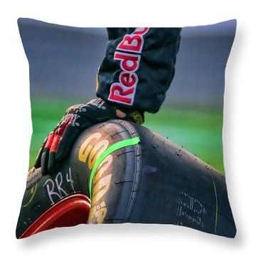 Redbull Good Year By Diana Sainz Throw Pillow