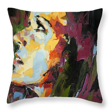 Redemption Throw Pillow by Julia Pappas