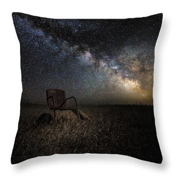 Redneck Planetarium Throw Pillow