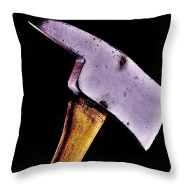 Redrum Throw Pillow by Benjamin Yeager
