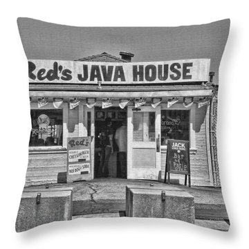 Red's Java House San Francisco By Diana Sainz Throw Pillow