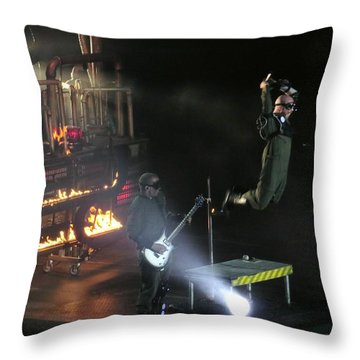 Red's Lead Singer Can Fly Throw Pillow