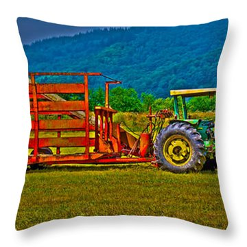 Redwood Ca Throw Pillow
