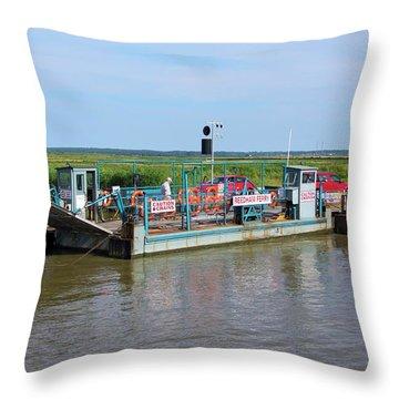 Norfolk Broads Throw Pillows
