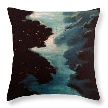 Reef Pohnpei Throw Pillow
