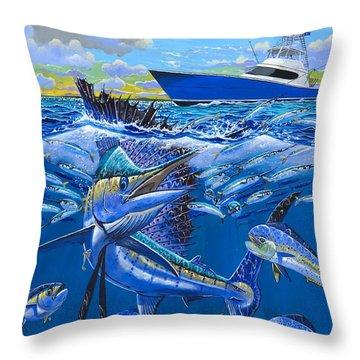 Reef Sail Off00151 Throw Pillow