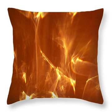 Throw Pillow featuring the photograph Reflected Angel by Leena Pekkalainen