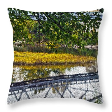 Reflected Throw Pillow
