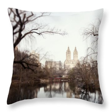 Reflected Throw Pillow by Lisa Russo