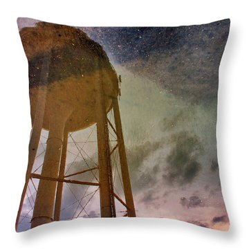 Throw Pillow featuring the photograph Reflected Necessity by Jason Politte