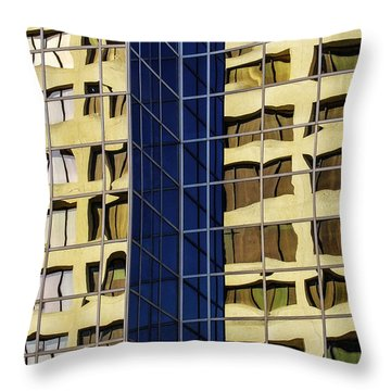 Reflecting Architecture  Throw Pillow
