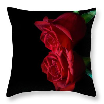 Reflecting Beauty Throw Pillow