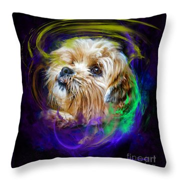 Reflecting On My Life Throw Pillow