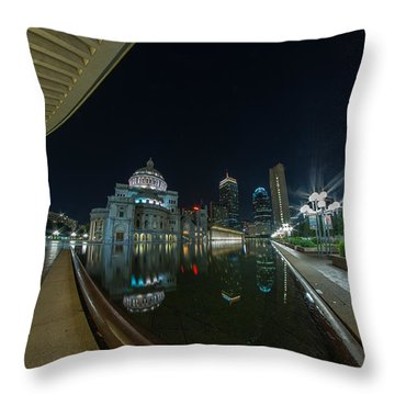 Reflecting Pool 2 Throw Pillow