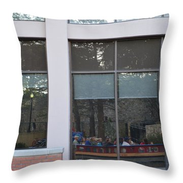 Reflection 1 Throw Pillow