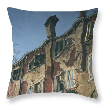 Reflection 6 Throw Pillow by Ron Harpham
