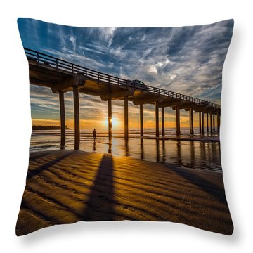 Reflection And Shadow Throw Pillow