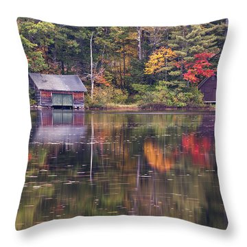 Reflection Throw Pillow by Jean-Pierre Ducondi