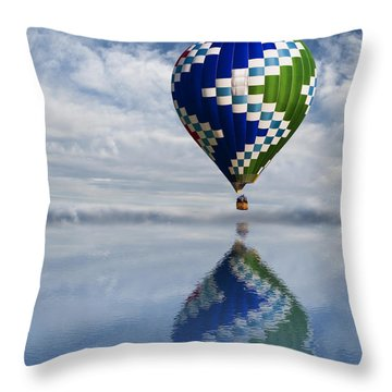 Reflection Throw Pillow by Juli Scalzi