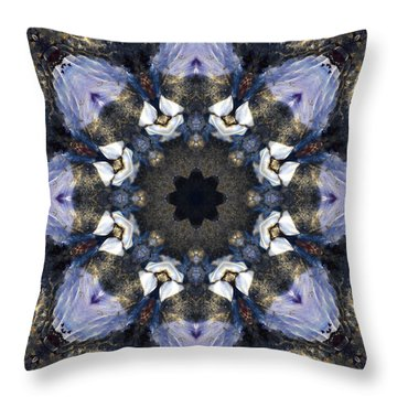 Reflection - Kaleidoscope Art Throw Pillow