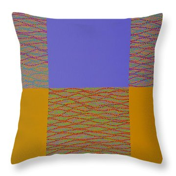 Reflection Throw Pillow by Kyung Hee Hogg